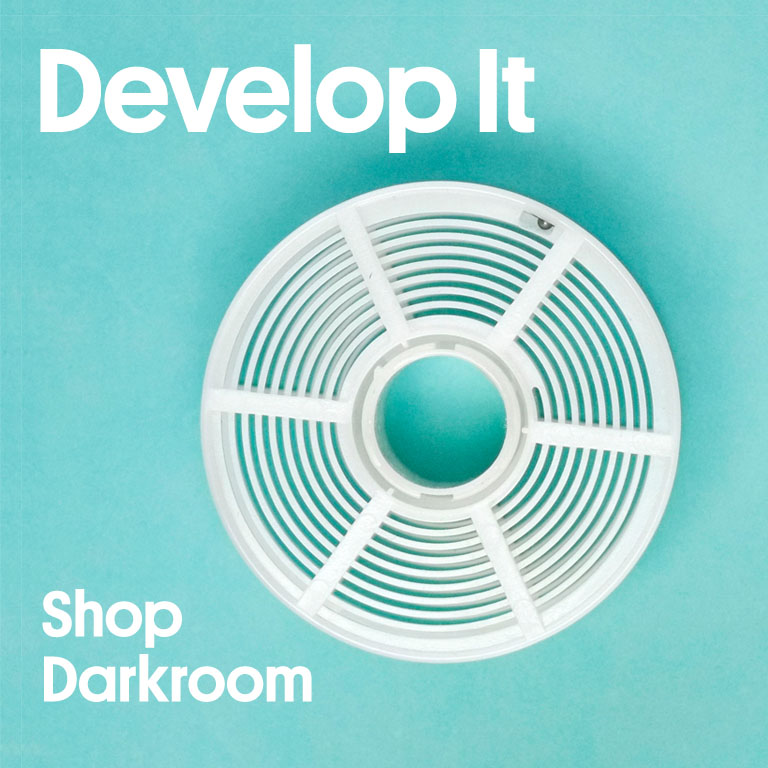 Develop It Shop Darkroom Paterson Film Processing Reel