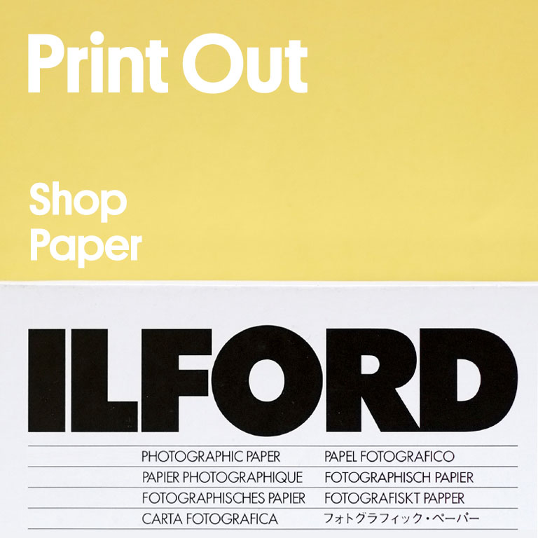 Print Out Shop Paper Ilford Photographic Paper
