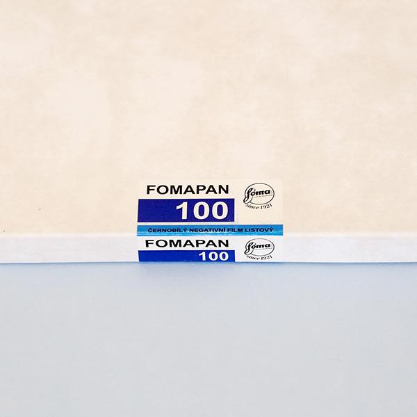 50 Sheets 4x5 Foma Fomapan 100 ISO Black /& White Negative Film