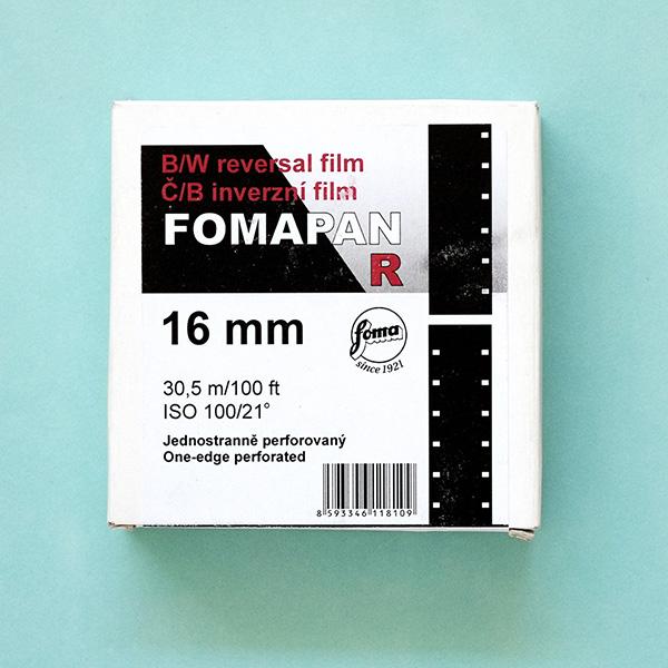 Fomapan R 100 16mm Film 30 5M