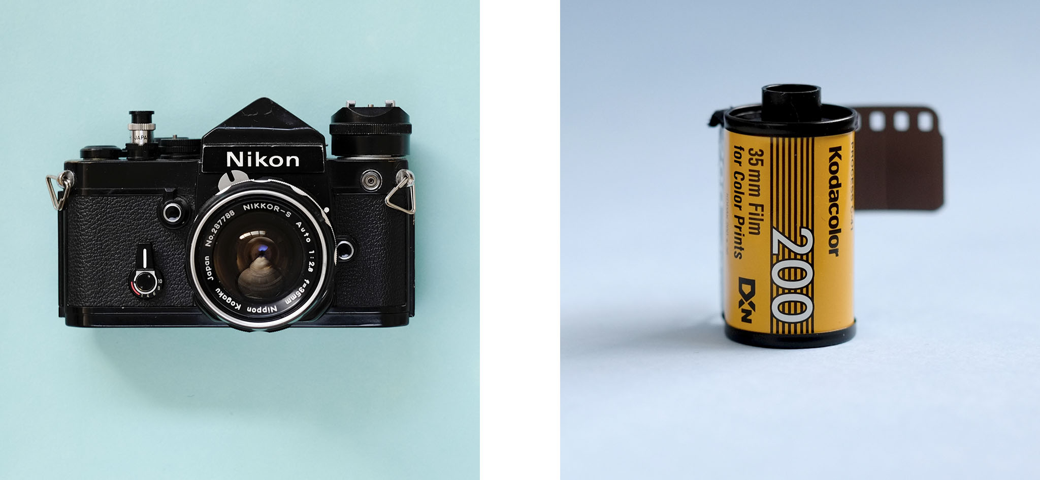 Beginners Guide To Film Photography. Shooting Film Nikon F2 Kodak ColorPlus 200