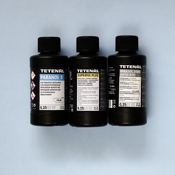 Tetenal film chemistry starter kit