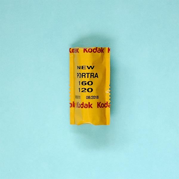 Kodak Portra 160 120 Film Single