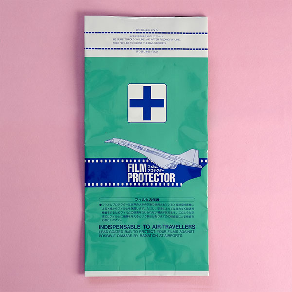 Hansa X Ray Proof Bag For Film Front