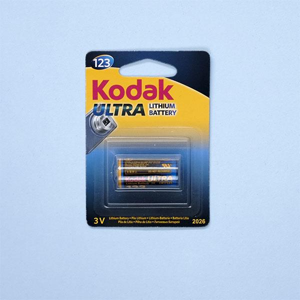 Kodak 3v lithium battery