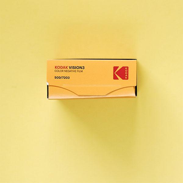 Kodak Vision3 50d 7203 Colour Negative Super 8 Film