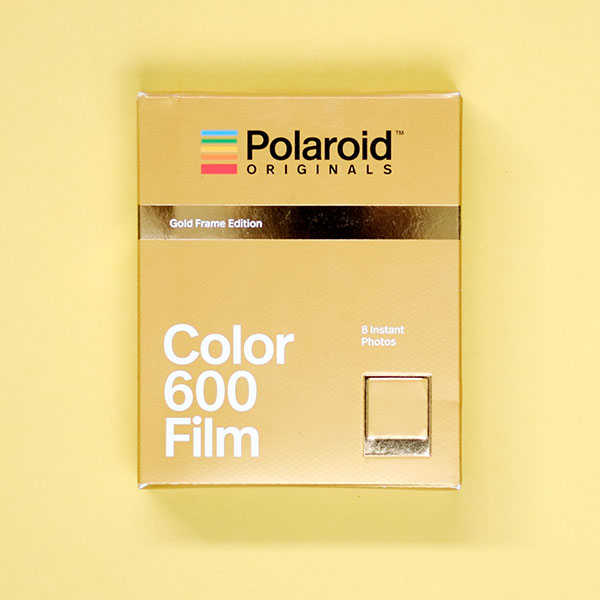 2f1c14a2a76 Polaroid Originals Color 600 Gold Frame Edition Instant Film ...