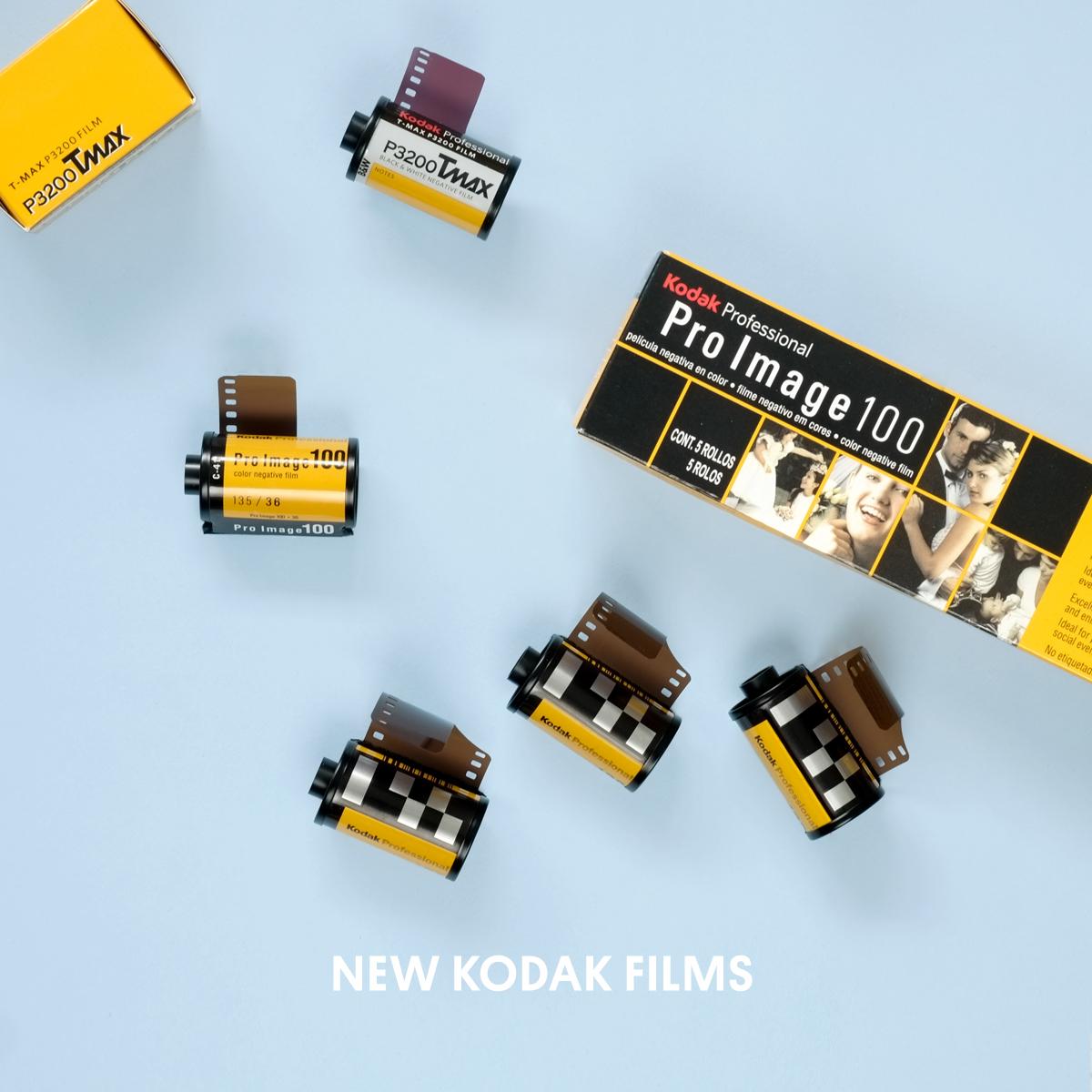 New Kodak Film T-Max P3200 Pro Image 100