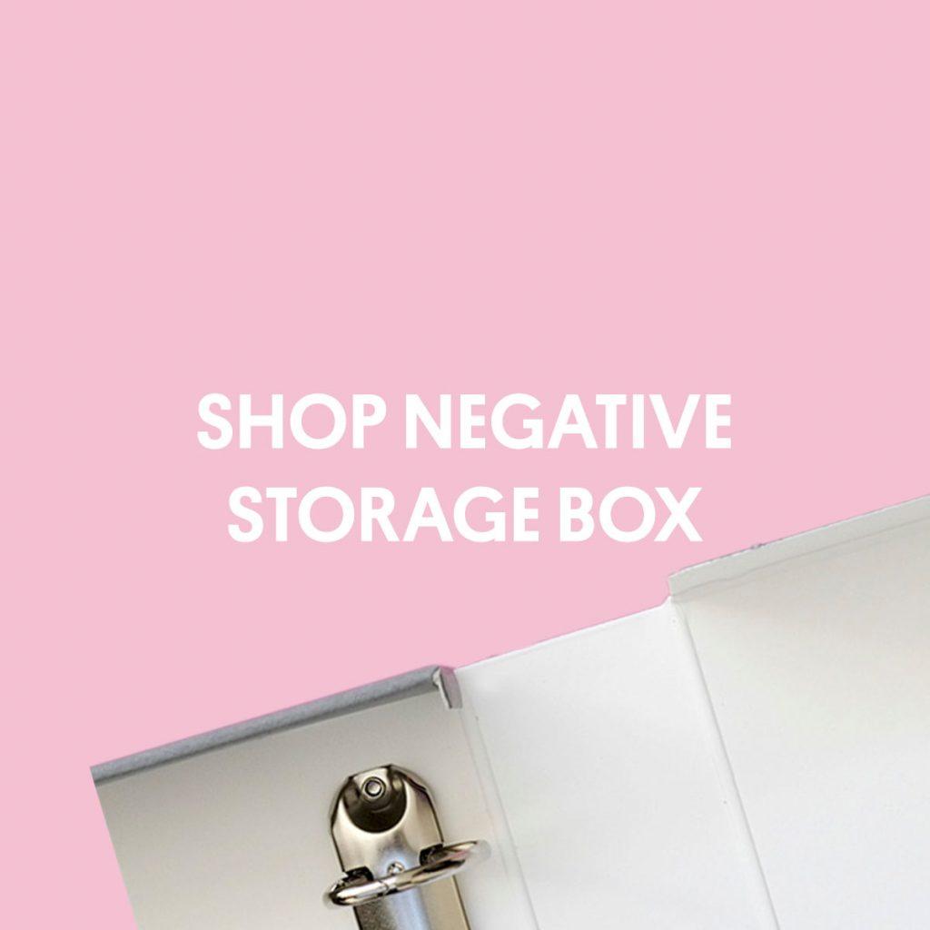 SHOP NEGATIVE STORAGE BOX
