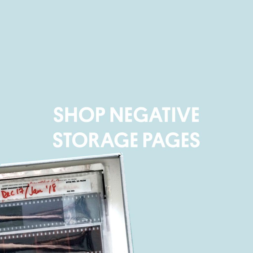 SHOP NEGATIVE STORAGE PAGES