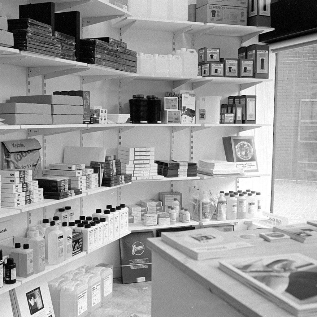Parallax Photographic Shelves About Us