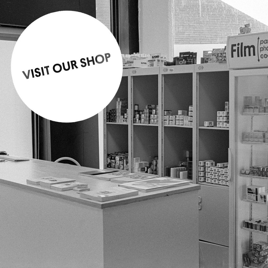 Visit Our Shop - Parallax Photographic Coop - Brixton, London