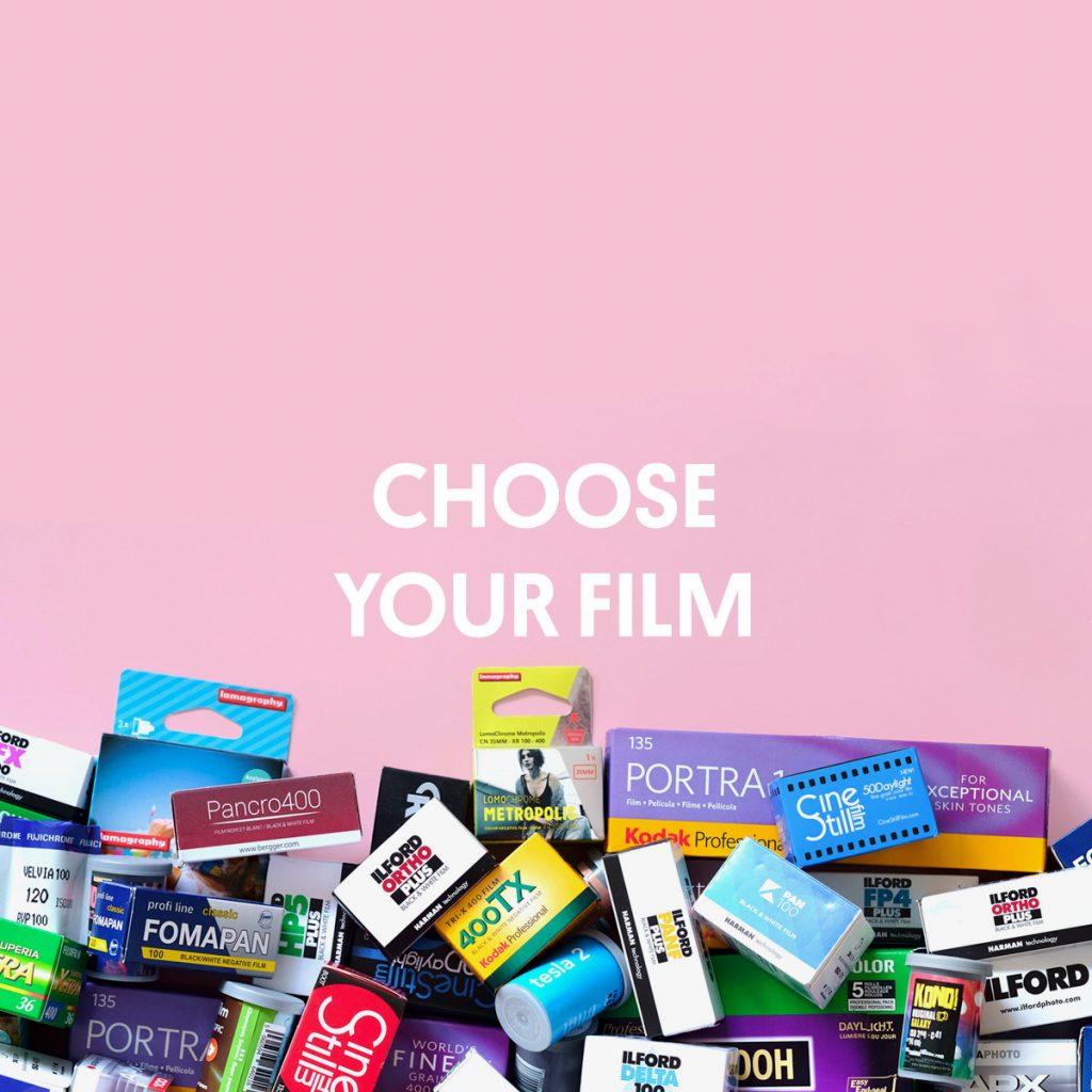 CHOOSE YOUR FILM