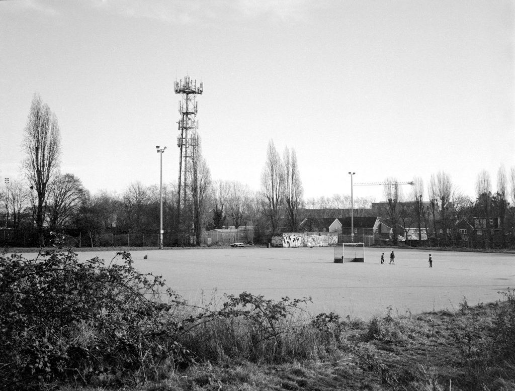 Kodak Tri-X 400 Playing Field Champion Hill
