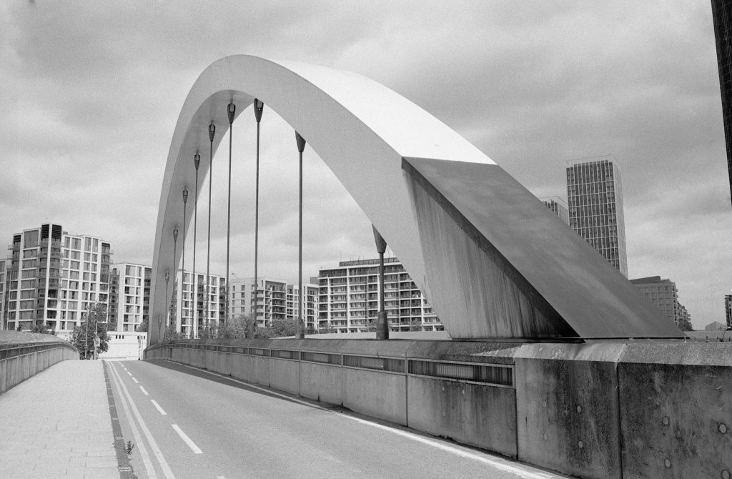 Kentmere Pan 100 Film Review Bridge Stratford
