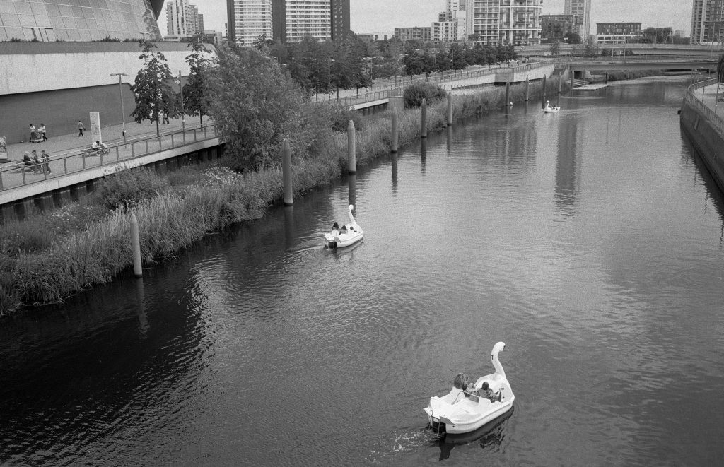 Swan Boats Kentmere Pan 100 Film