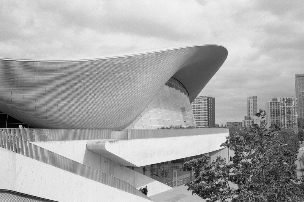 Olympic Park East London Kentmere Pan 100