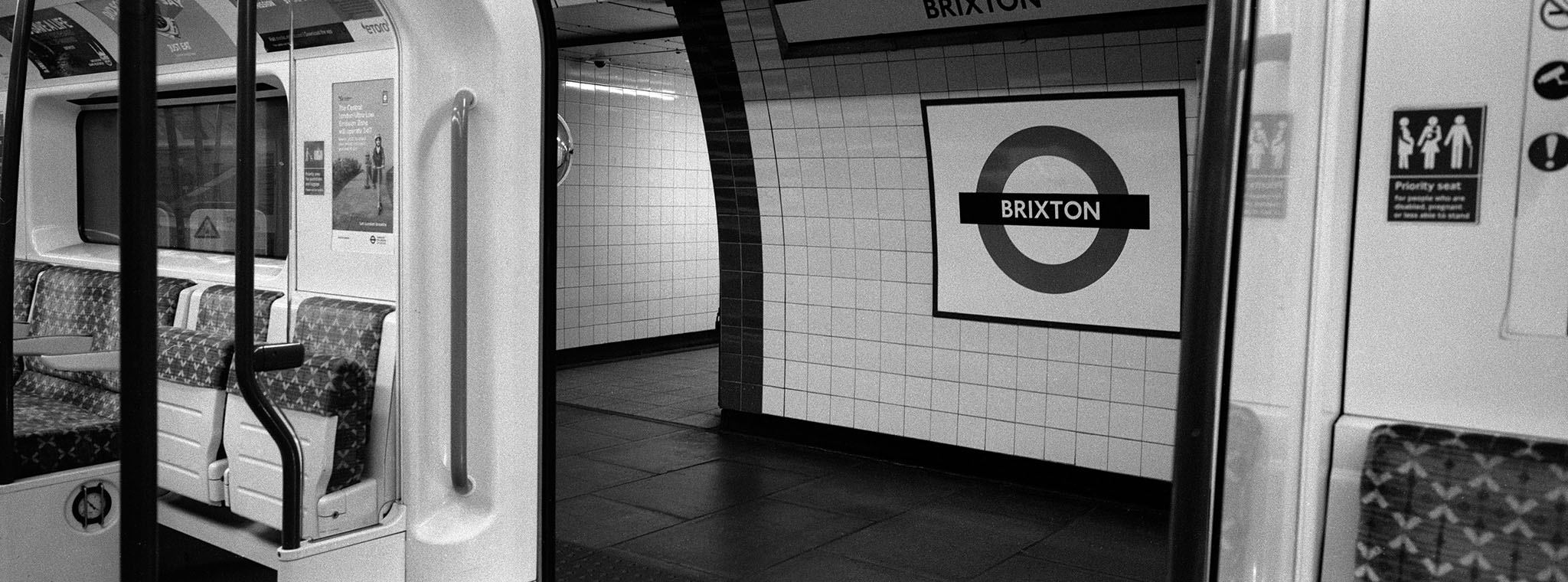 Brixton Tube Ilford HP5 1600 ISO