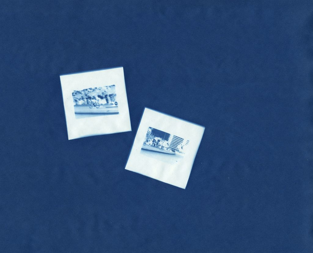 Cyanotype Kodachrome