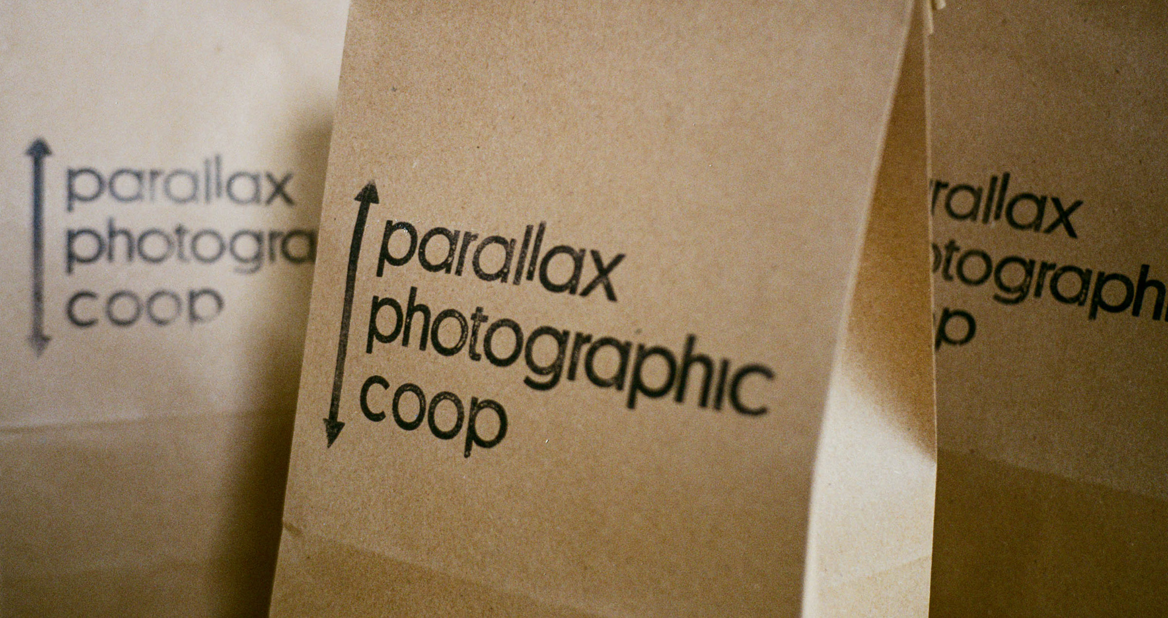 Click + Collect Brown Paper Bags at Parallax Photographic