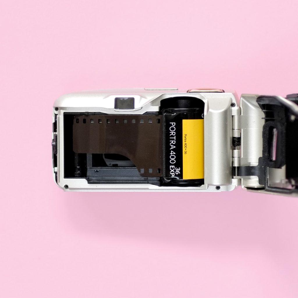 Best 35mm Film for Portraits - Kodak Portra 400 and Olympus mjuII Camera