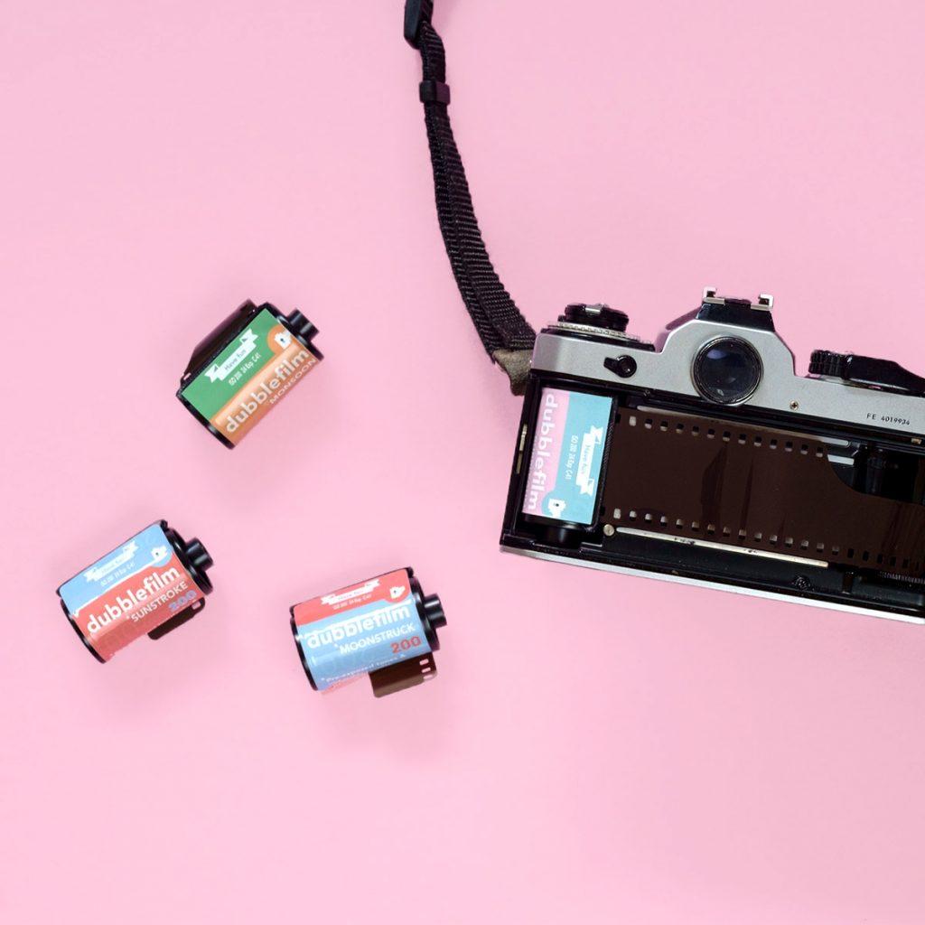 Experimental Films - Dubblefilm 35mm and Nikon FE Camera