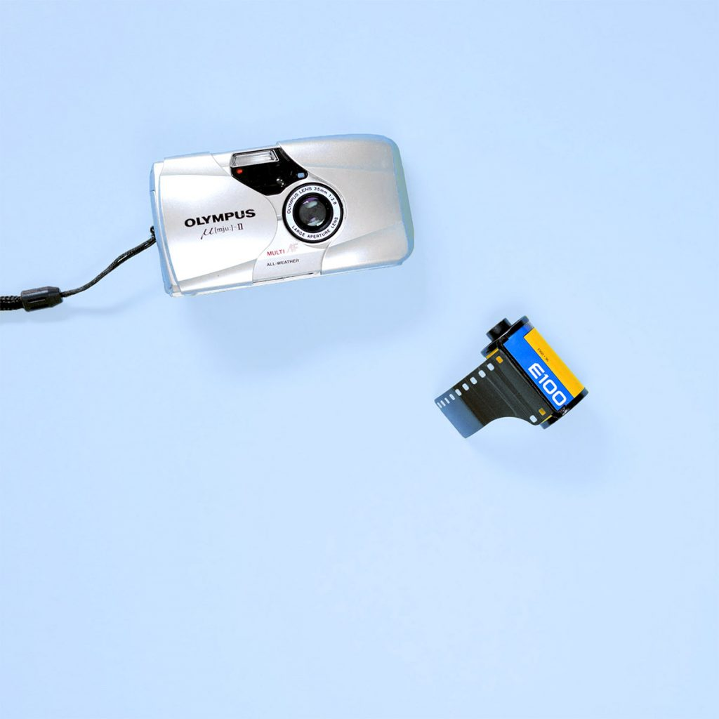 Transparency Film - Kodak Ektachrome E100 35mm and Olympus mjuII Camera